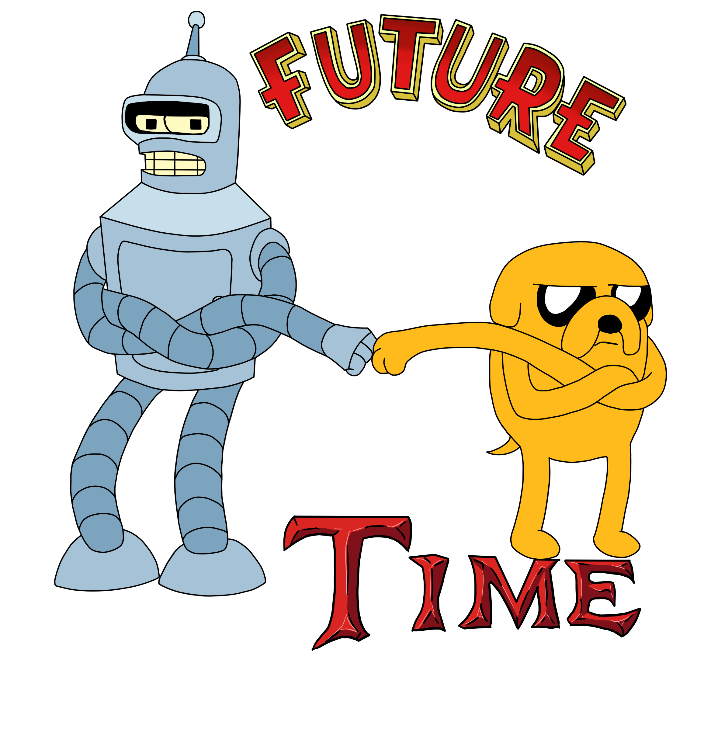 Future Time Colored