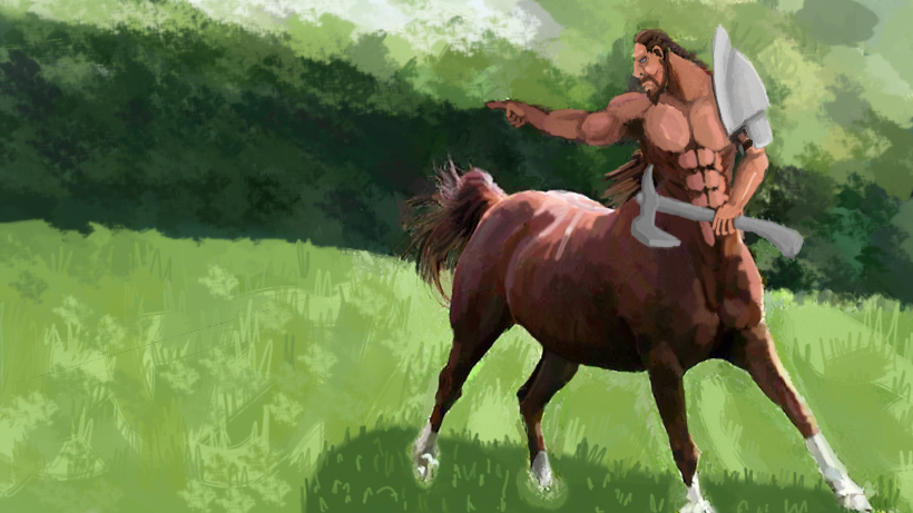 Centaur Warrior