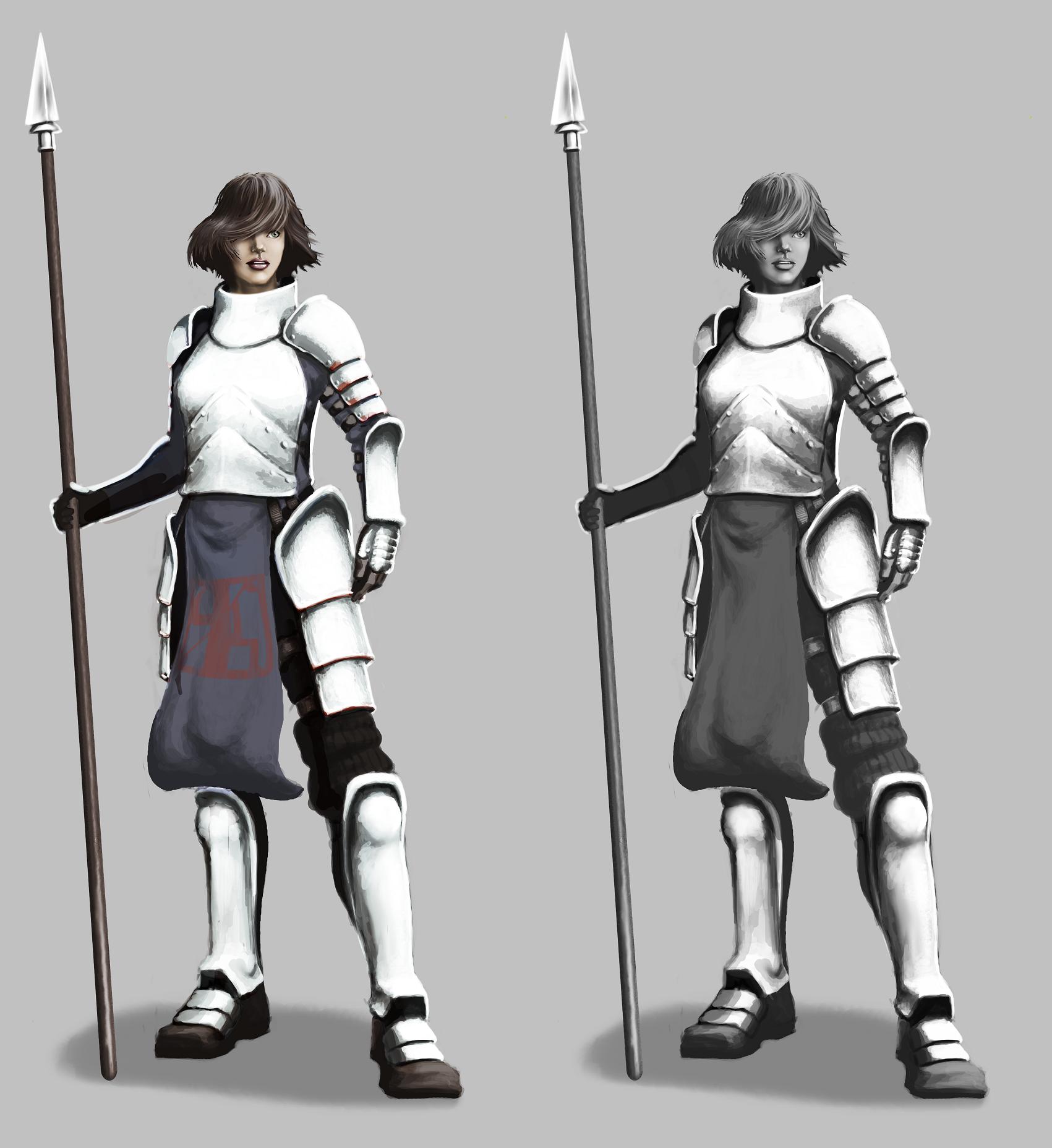 Mariko armour concept