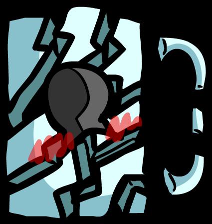 Smashed Lock