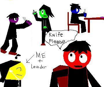 Colored Mafia Meeting