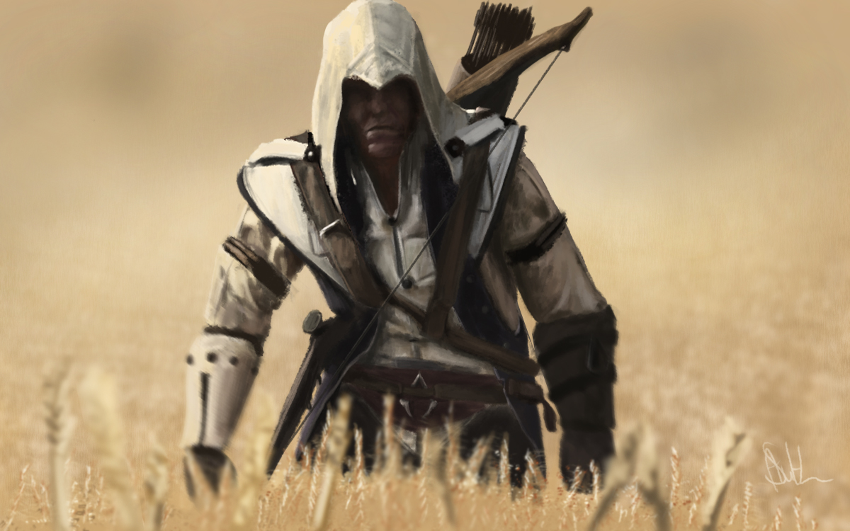 Assassin's Creed 3 Speed Paint