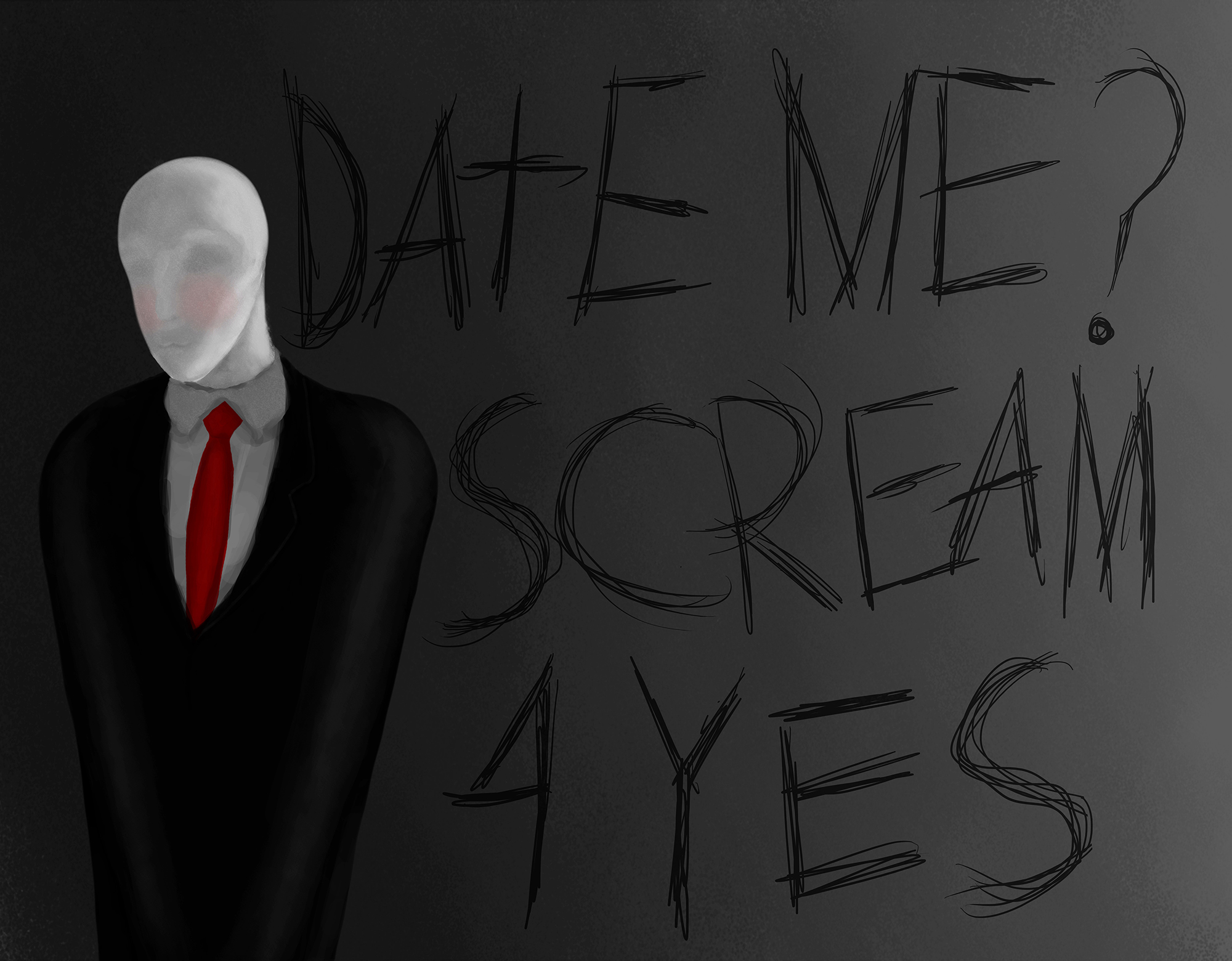 Slenderman Horrific lovelies