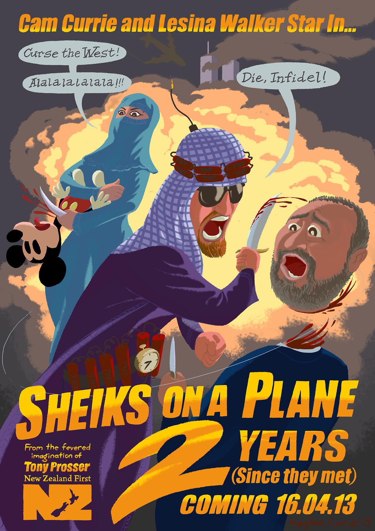 Sheiks On A Plane