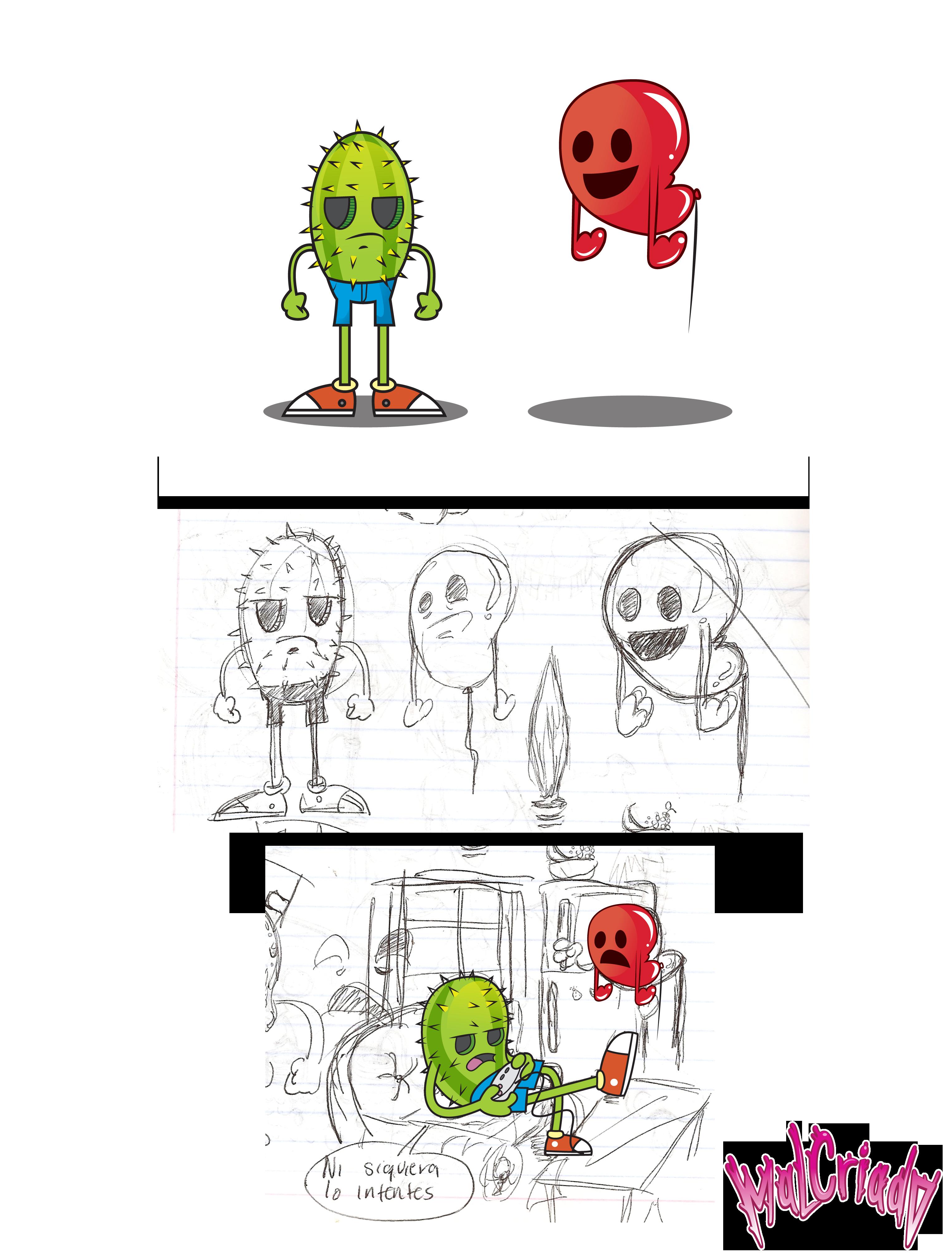 Carl & Bob (character design)