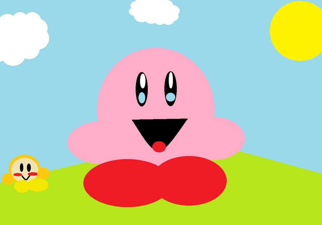 Kirby chillin'
