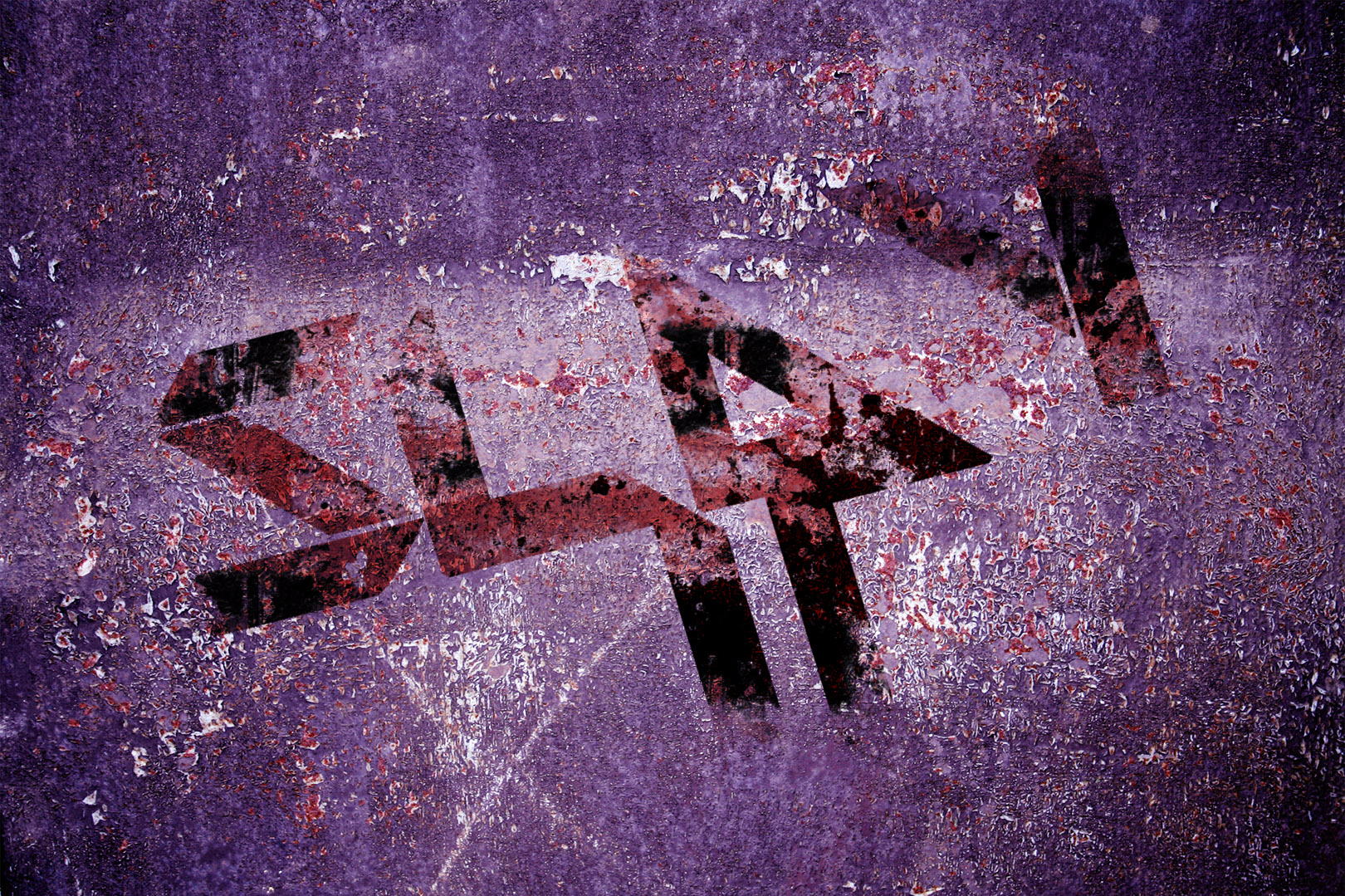 Slay It Blood Wallpaper