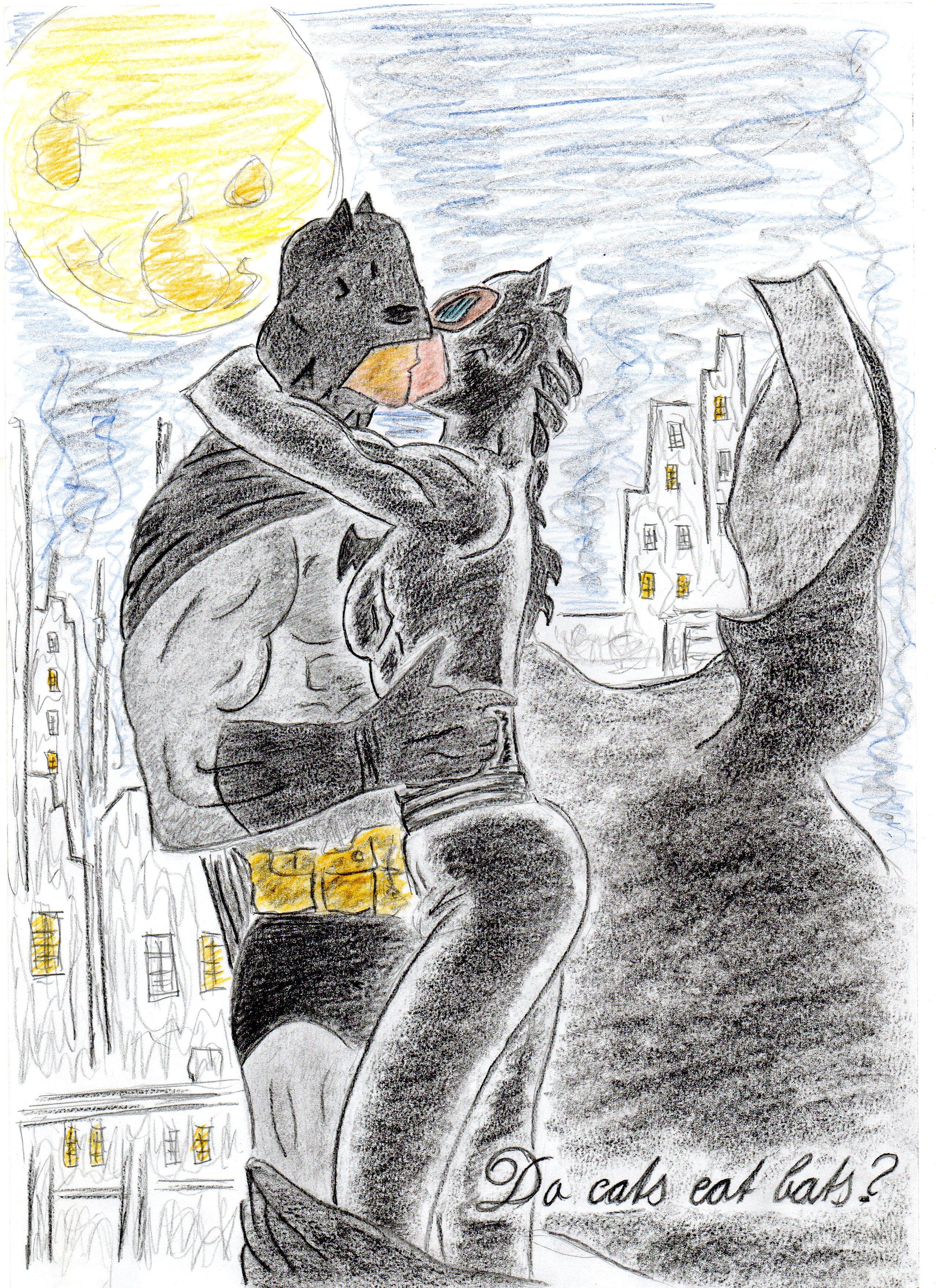 Do cats eat bats?