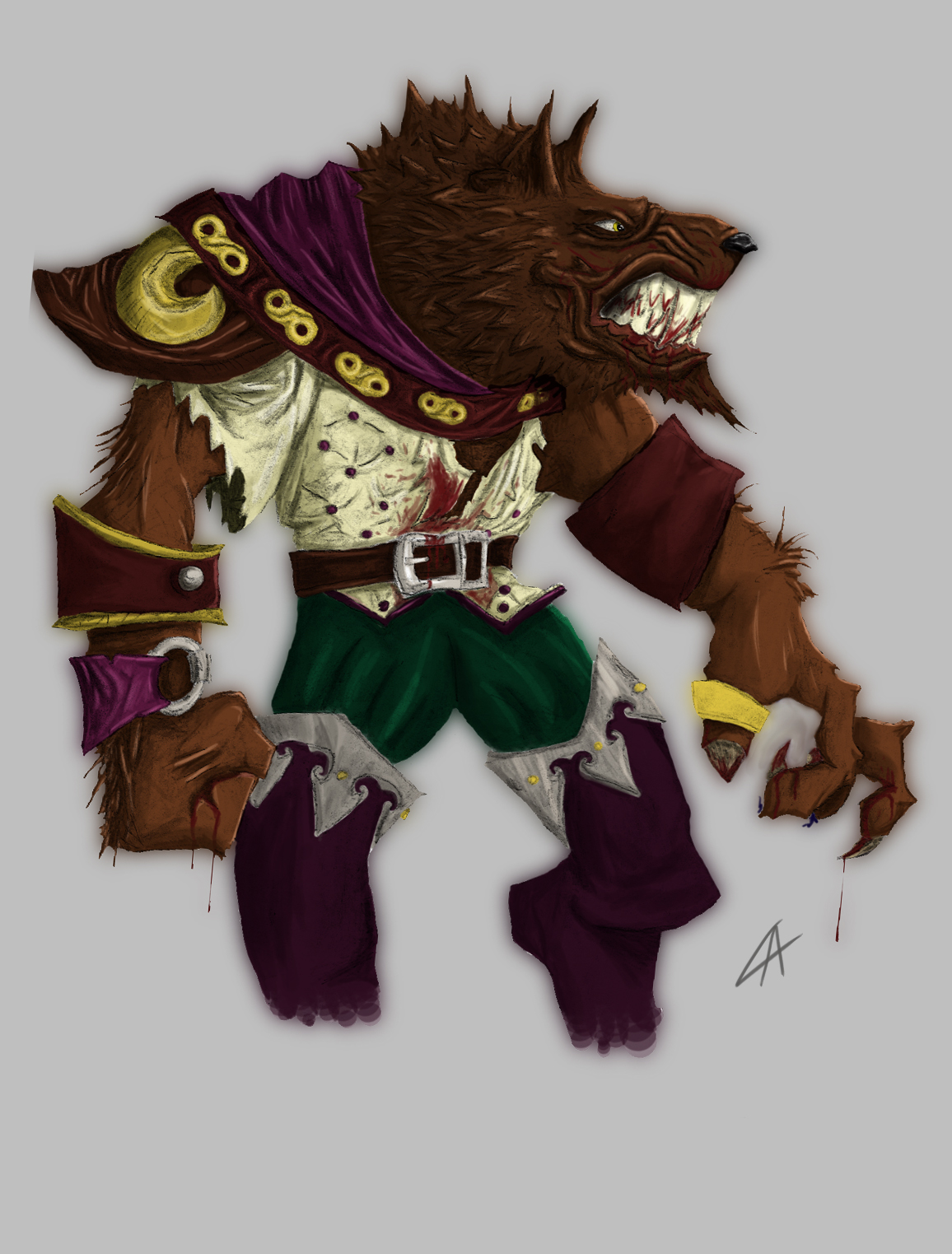WoW Worgen Basic