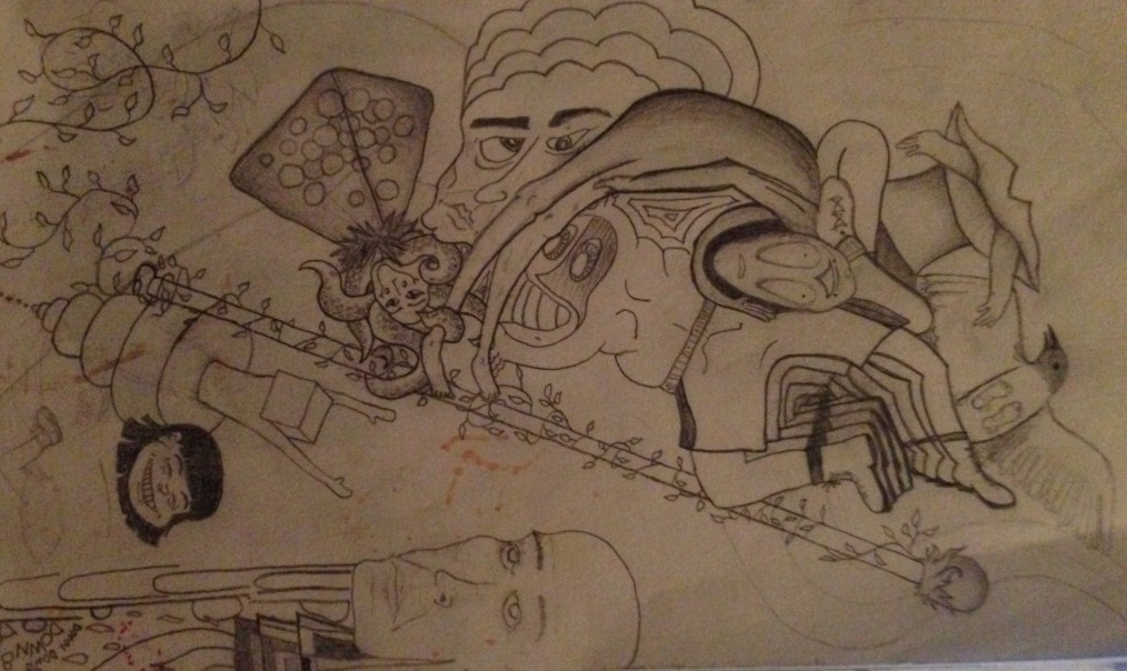 Trippy sketch