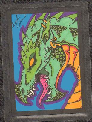 Artist Trading Cards - Dragon