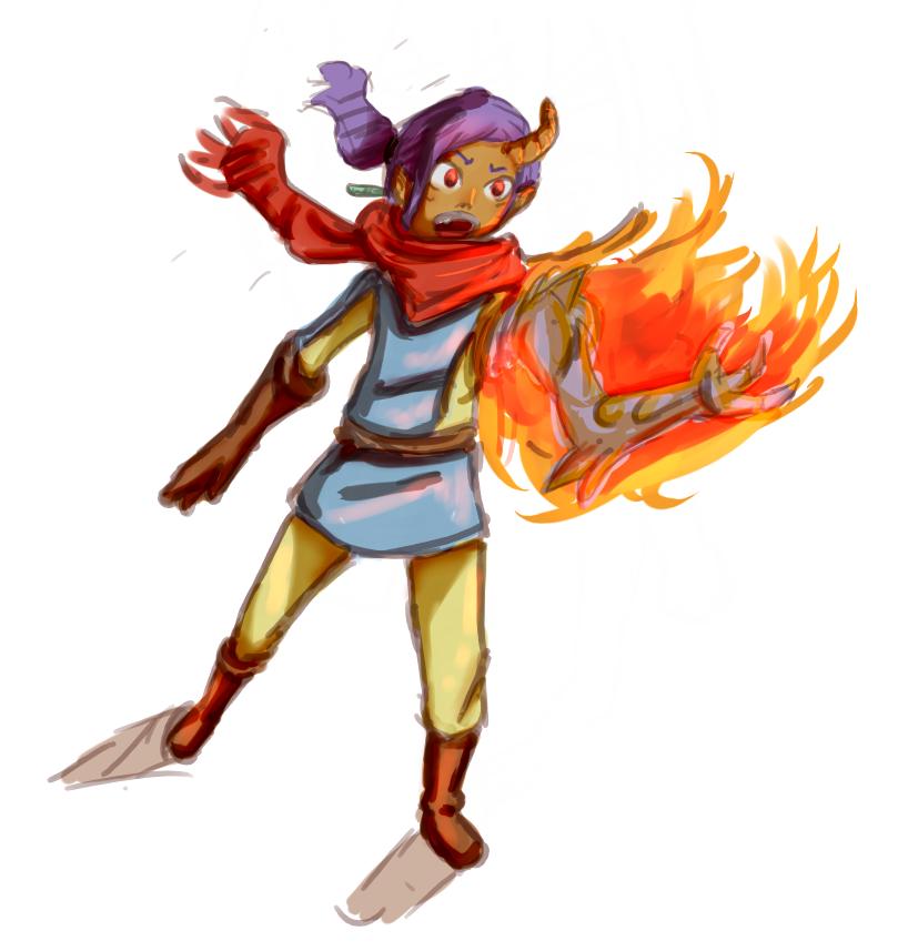 Reborn by fire