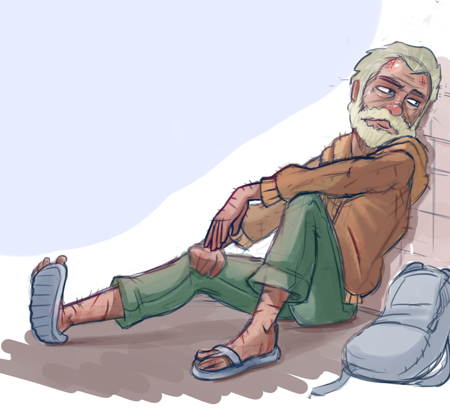 Homeless Doodle