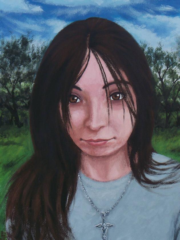 Felicia (acrylic painting#8)