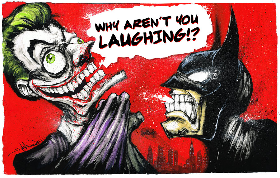 Why aren't you laughing Bruce?