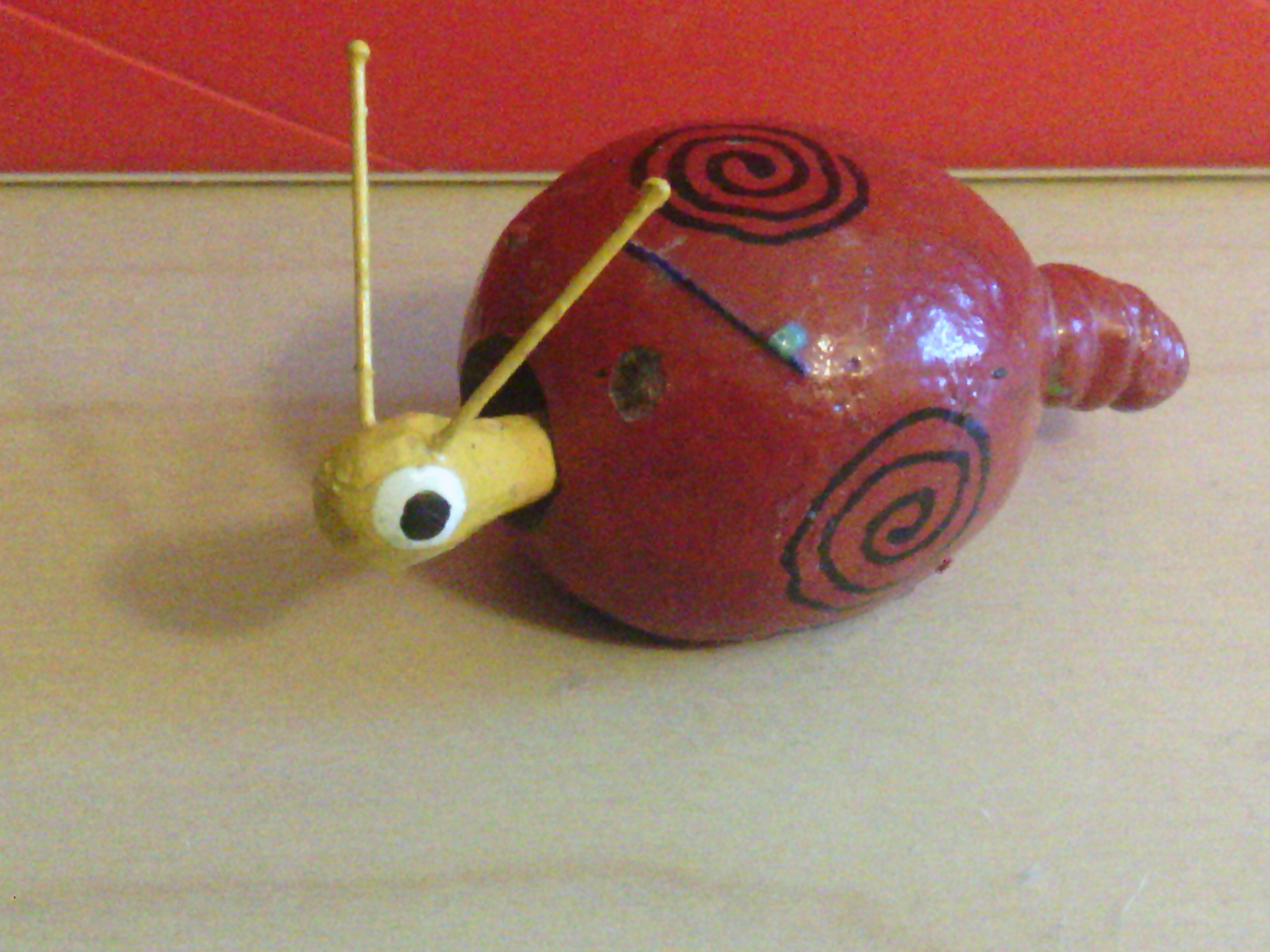 The red Swirled Snail