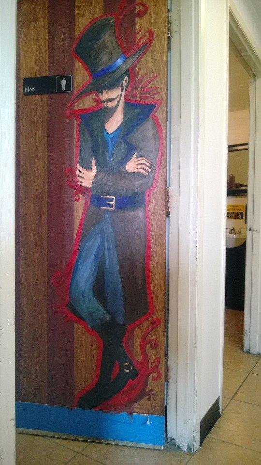 Men's door