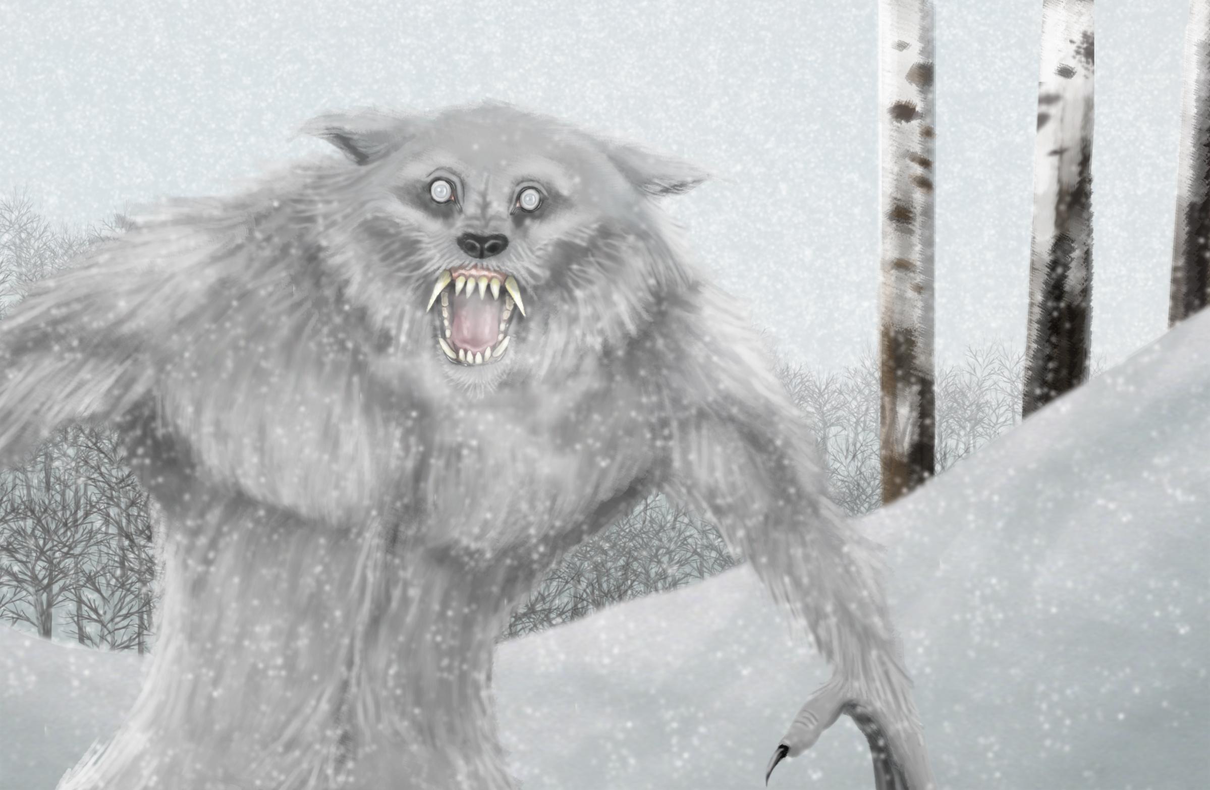 Werewolf in the Snow