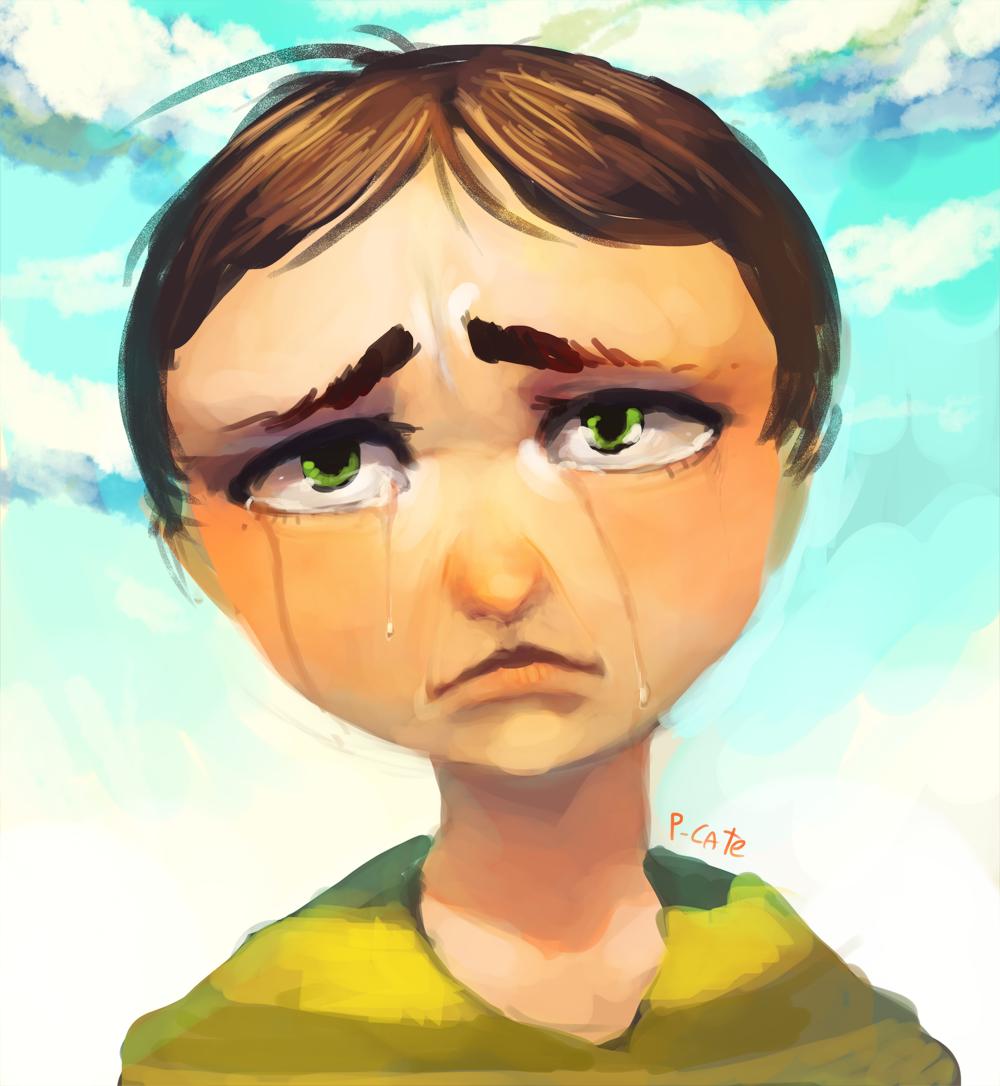 An then he cried