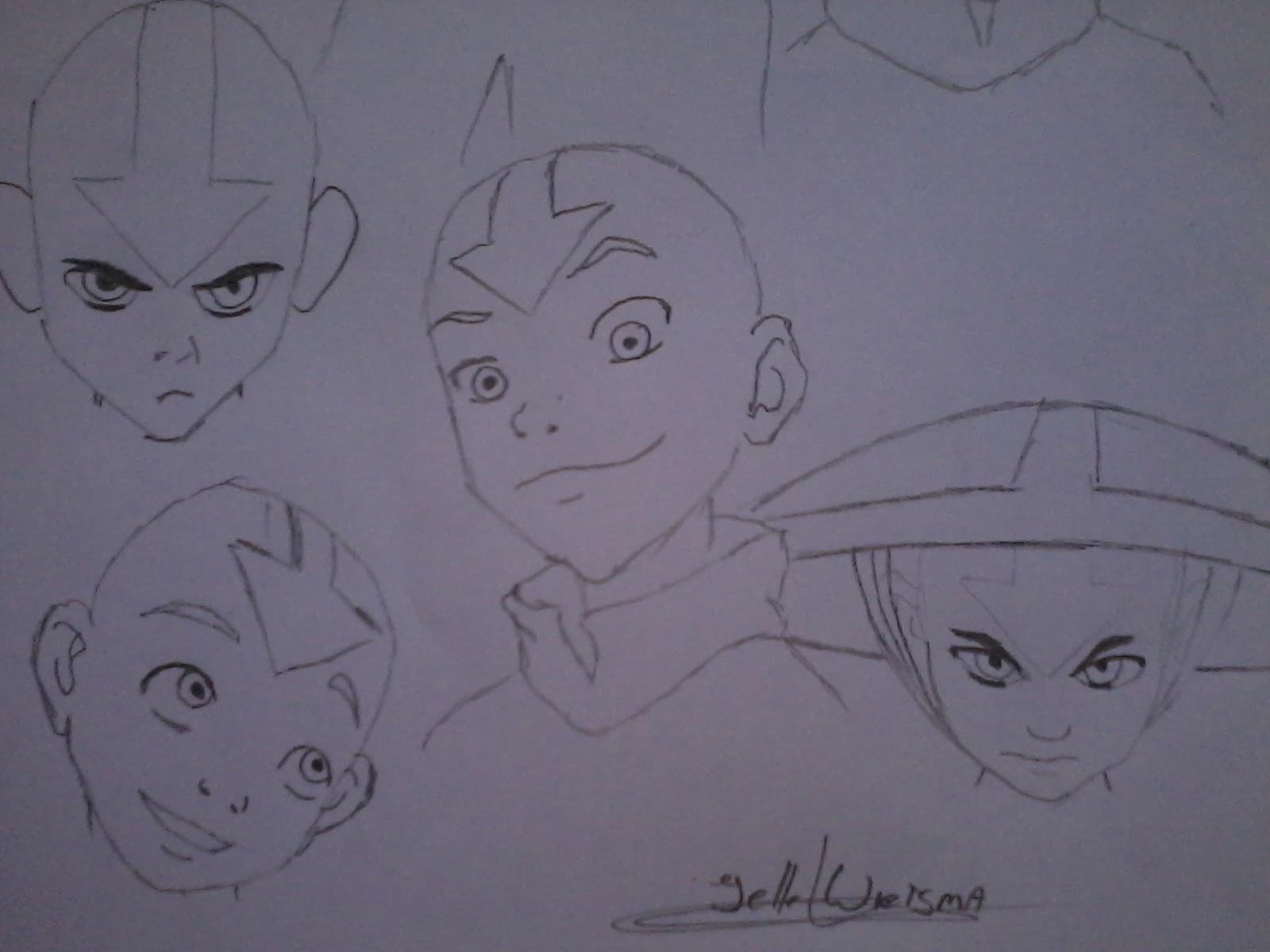 Manga - Avatar Aang head