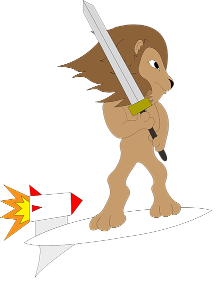 Hoverboard Lion