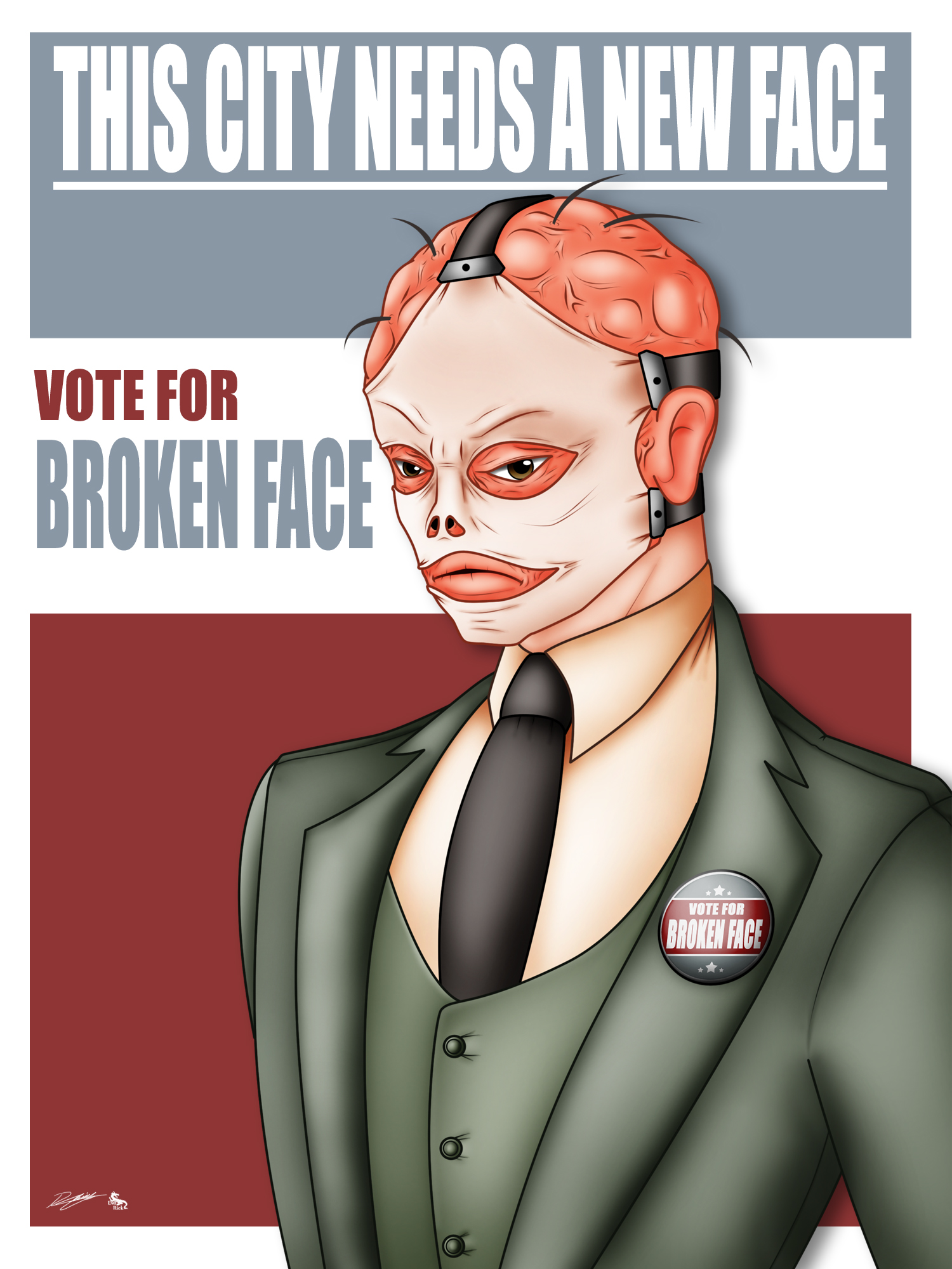 Vote for Broken Face