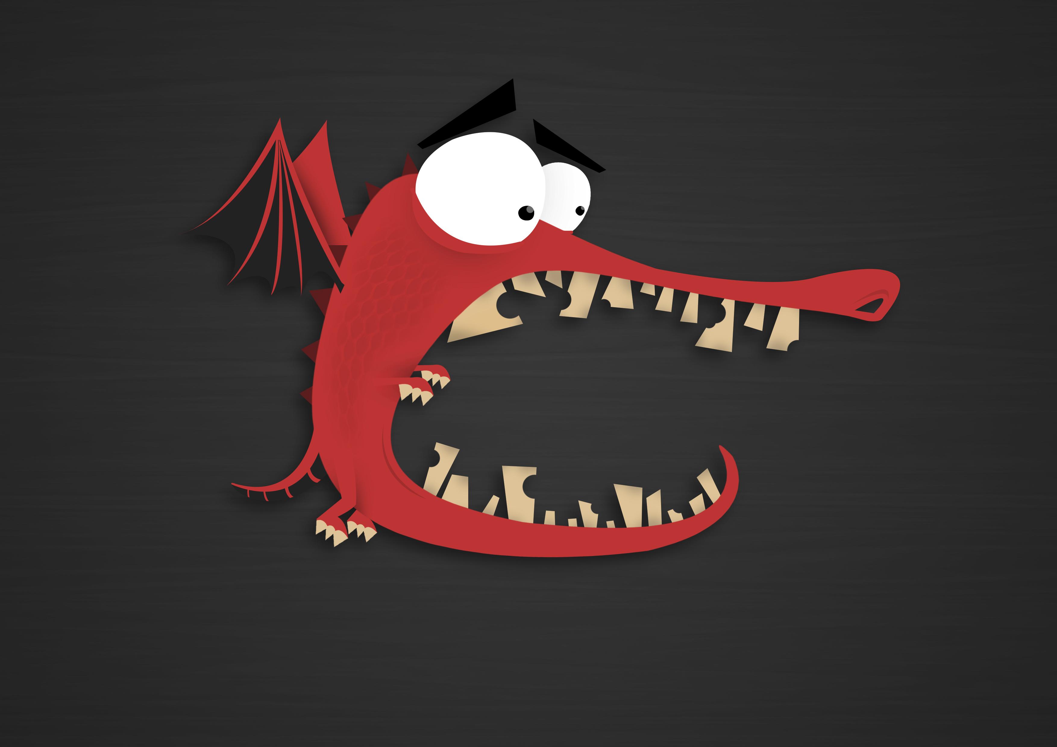 Silly Dragon