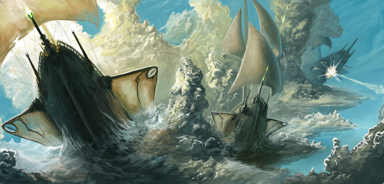 Futuristic Viking Ships!