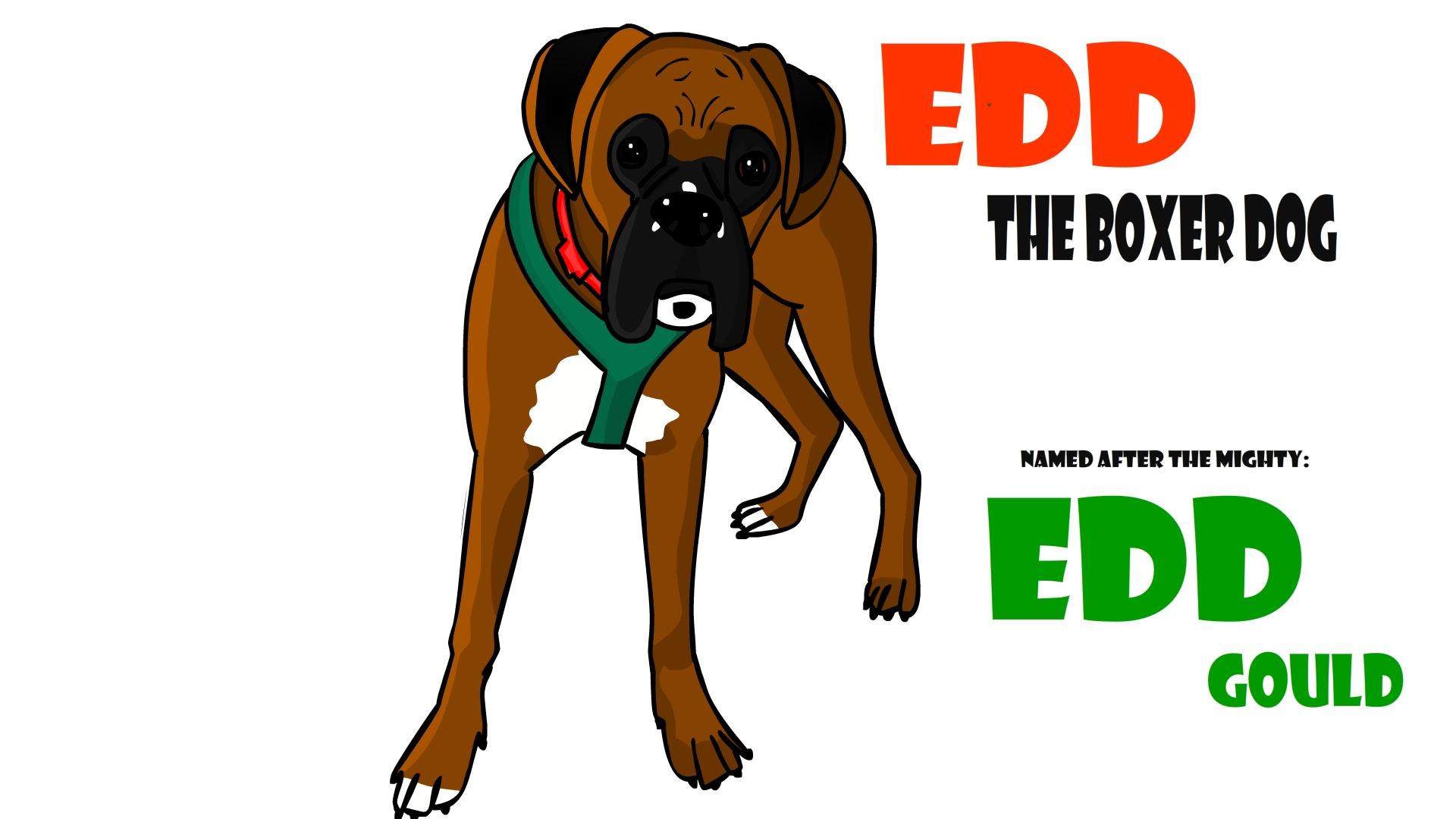 Edd the dog