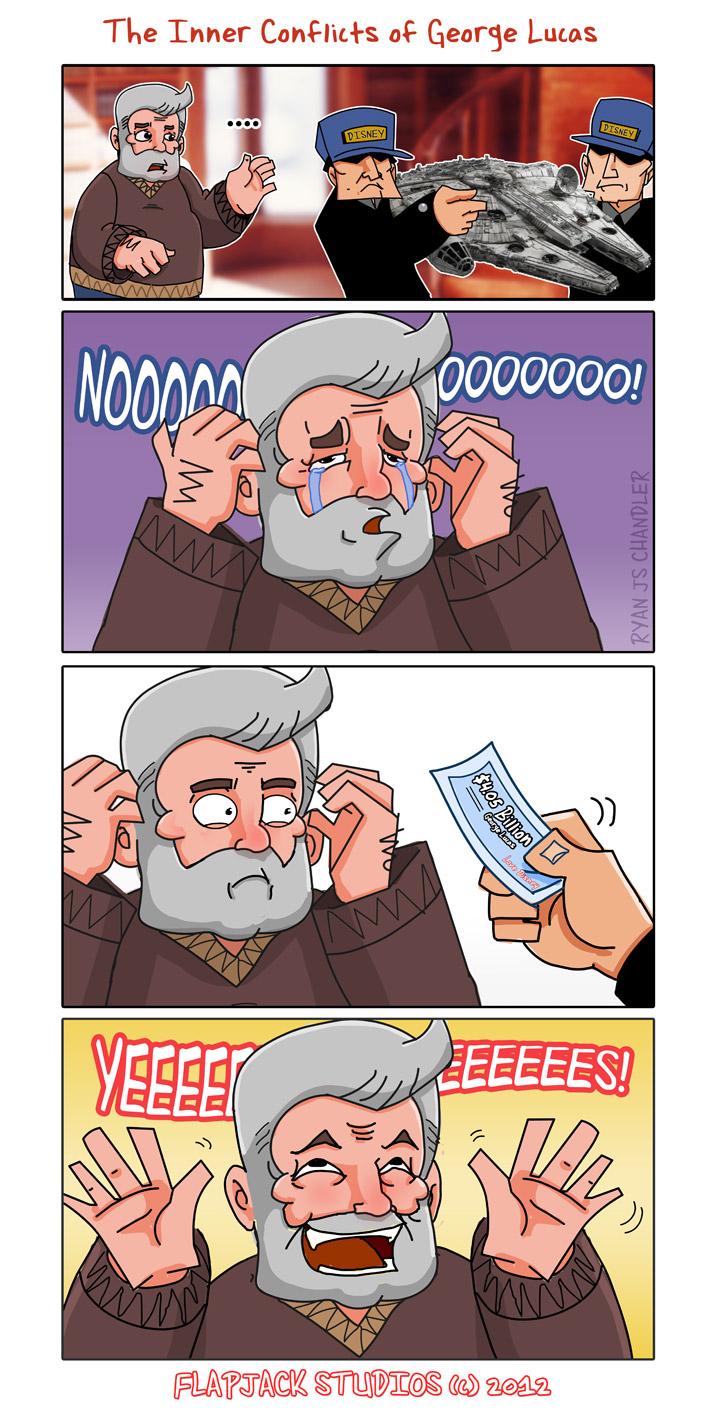 George Lucas Sells Starwars