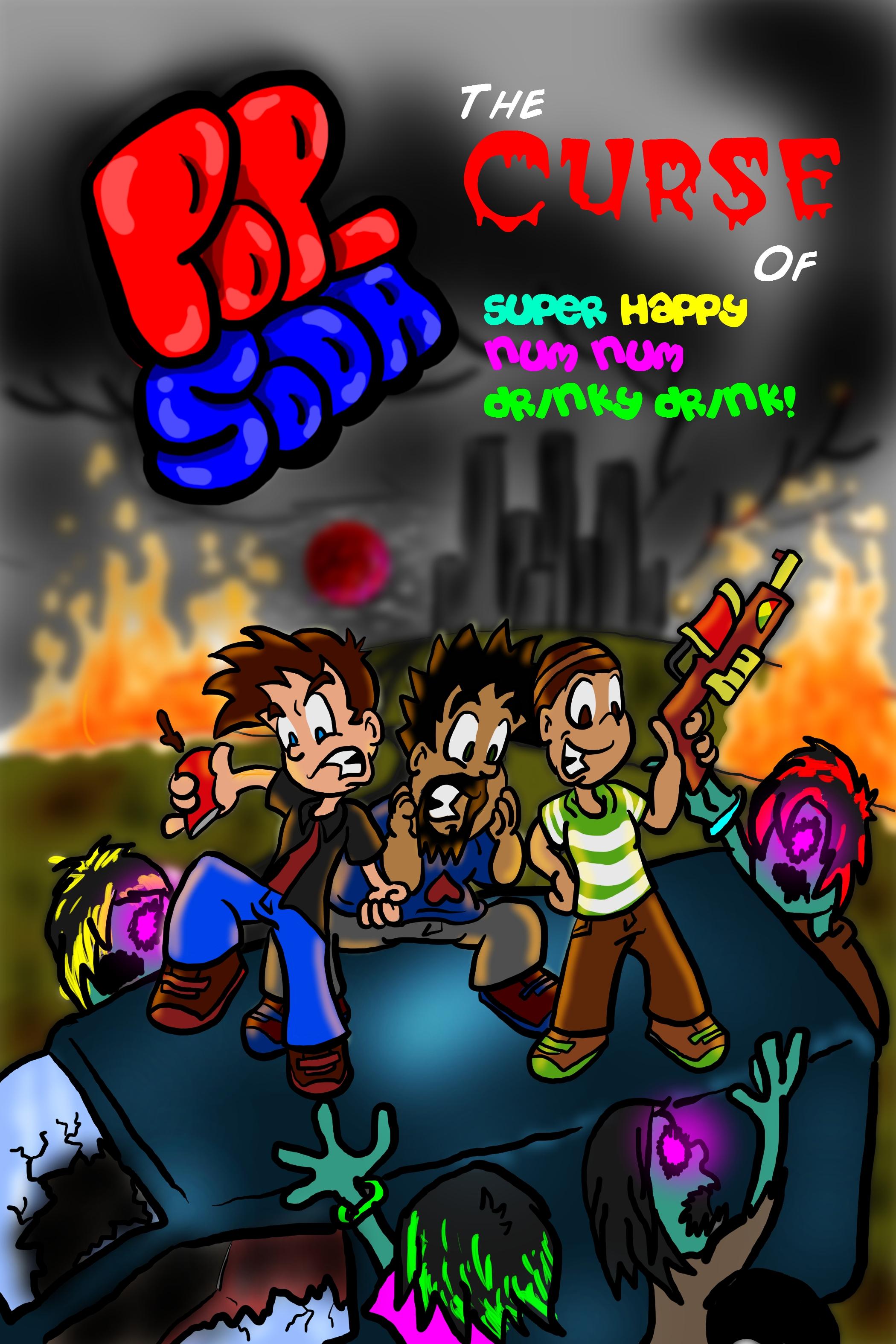 Pop-Soda: Comic Cover Art