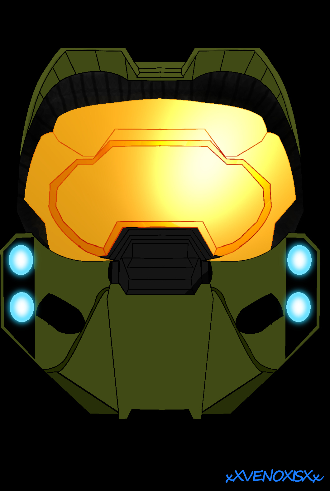 master chief helmet *remake*