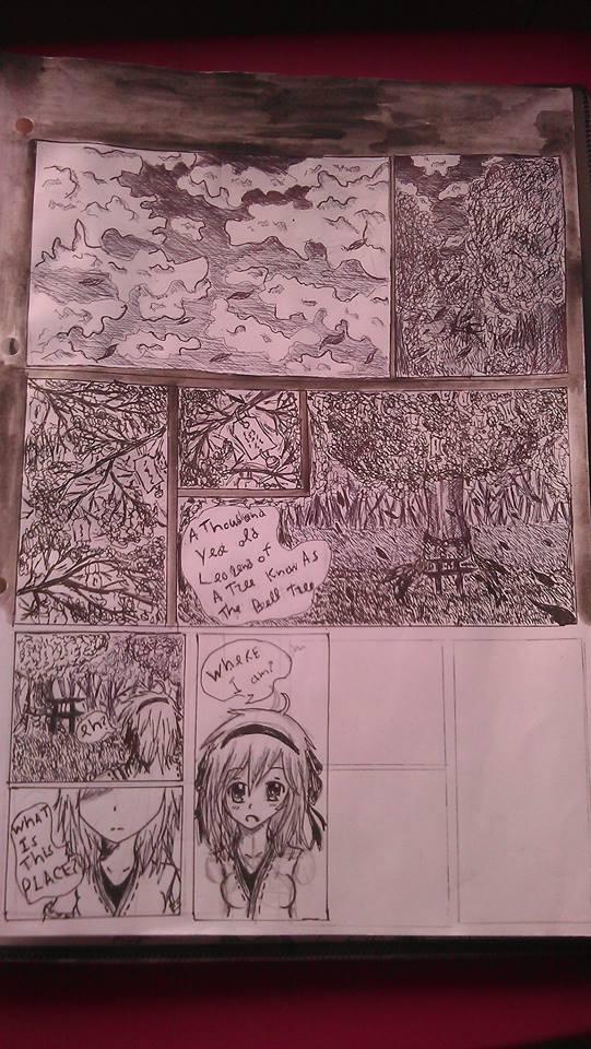 Manga comic (not fineshed yet)