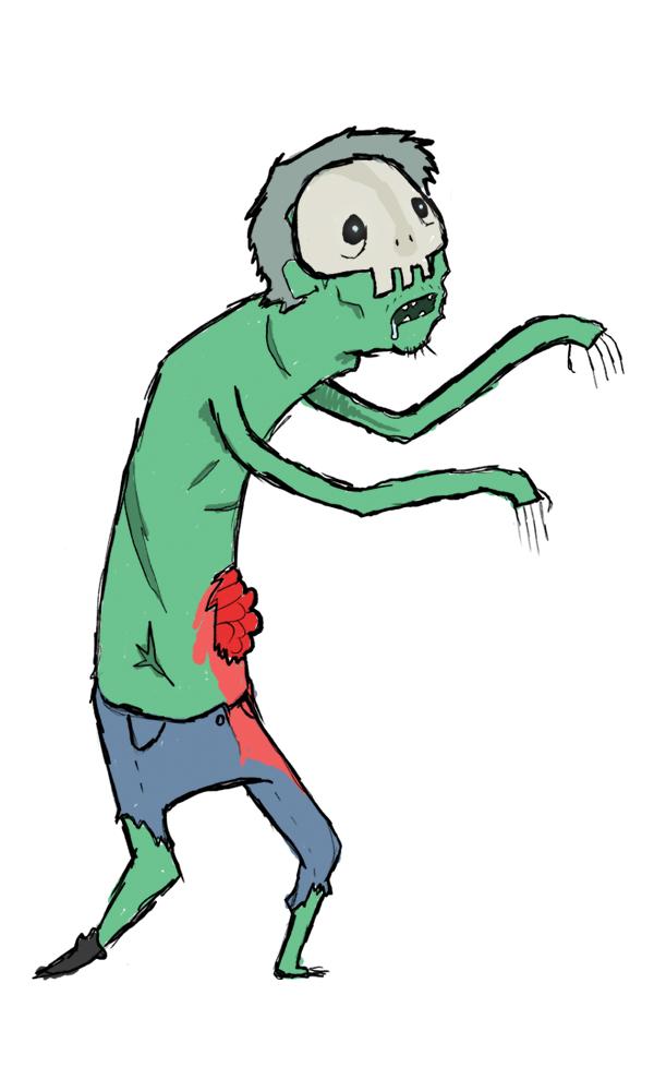Everyone Draws 1 Zombie