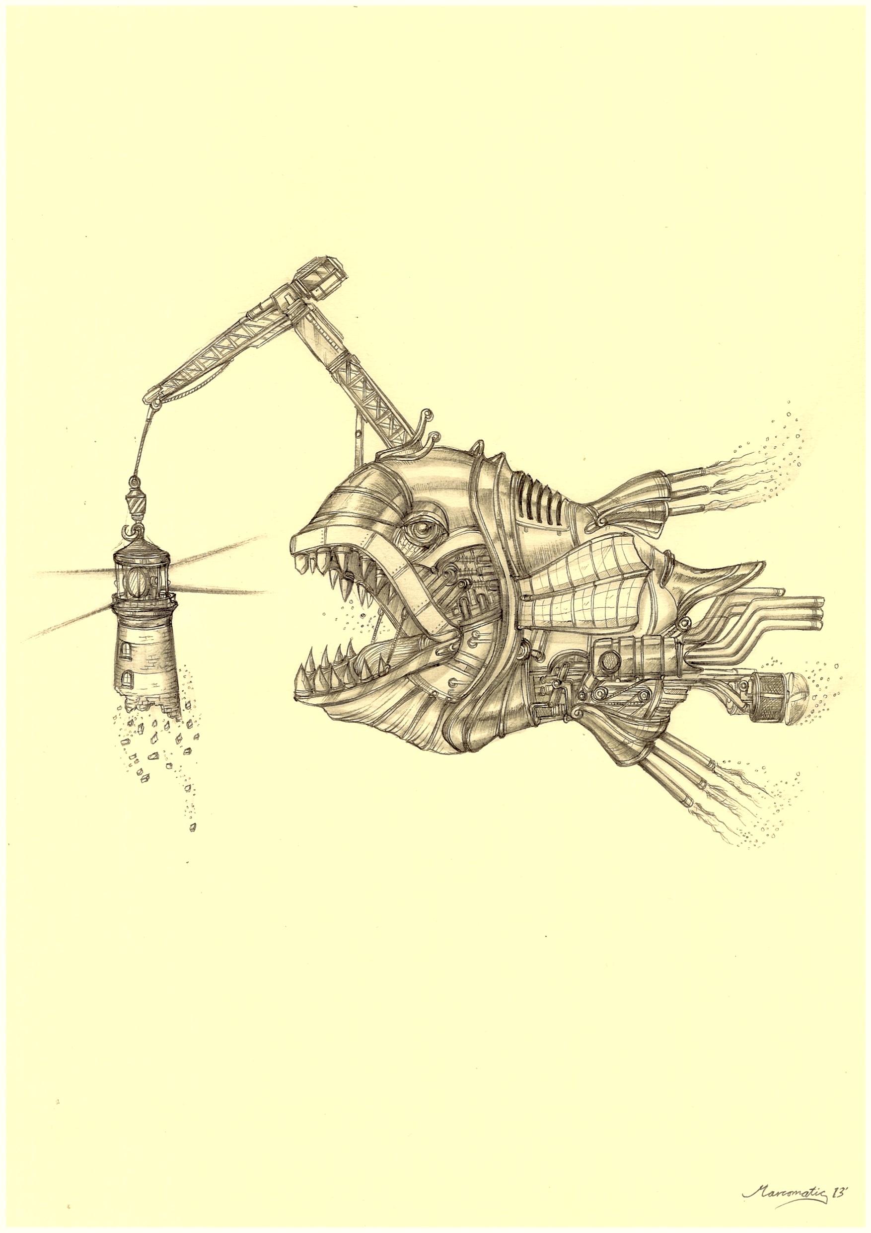Colossal Crane Angler