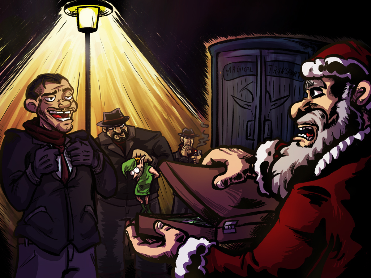 Santas Business clean