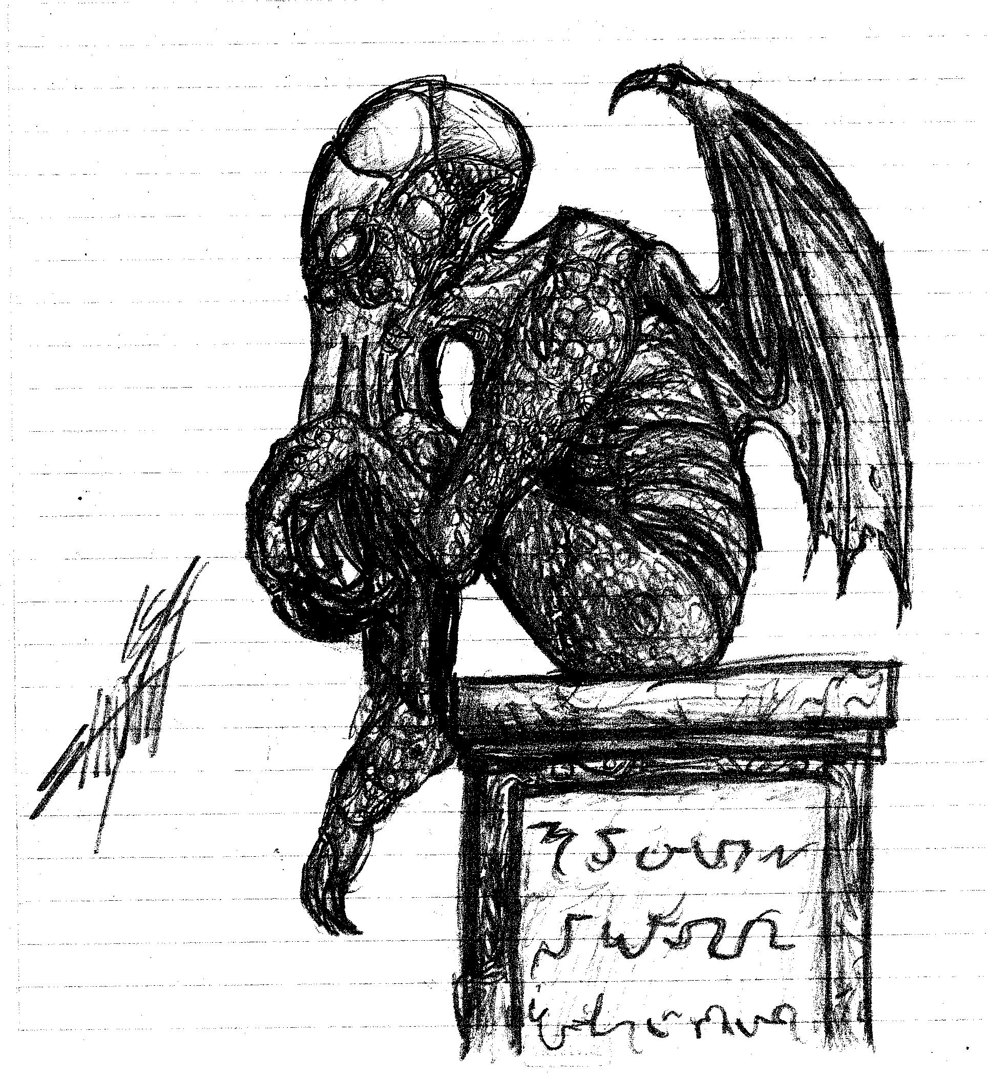 The Sketch of Cthulhu