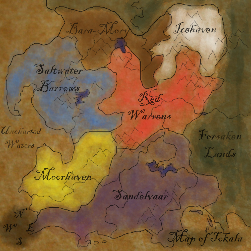 Map of Tokala