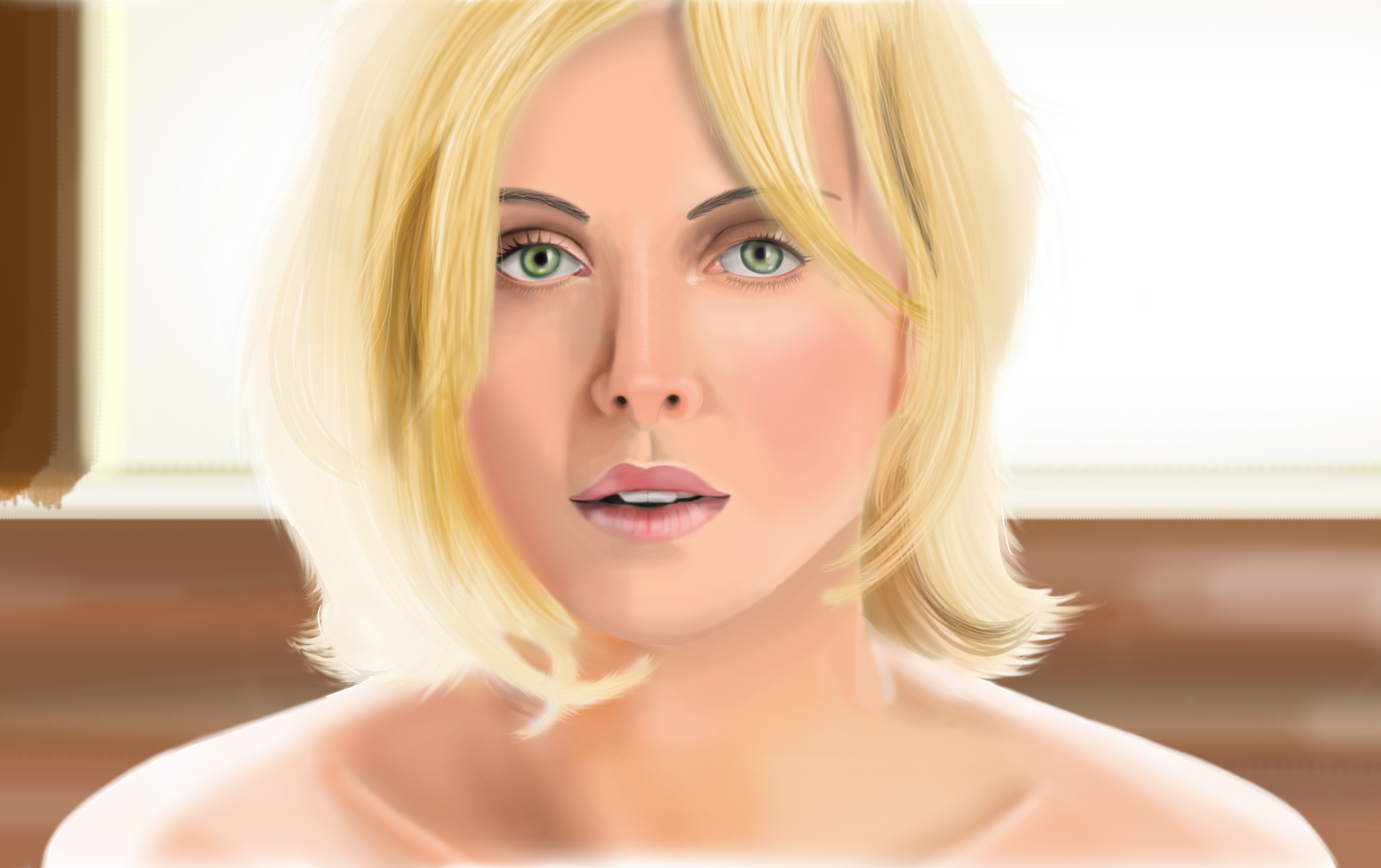 Charlize Theron - Practice