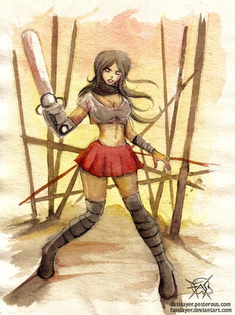 zombie chainsaw girl