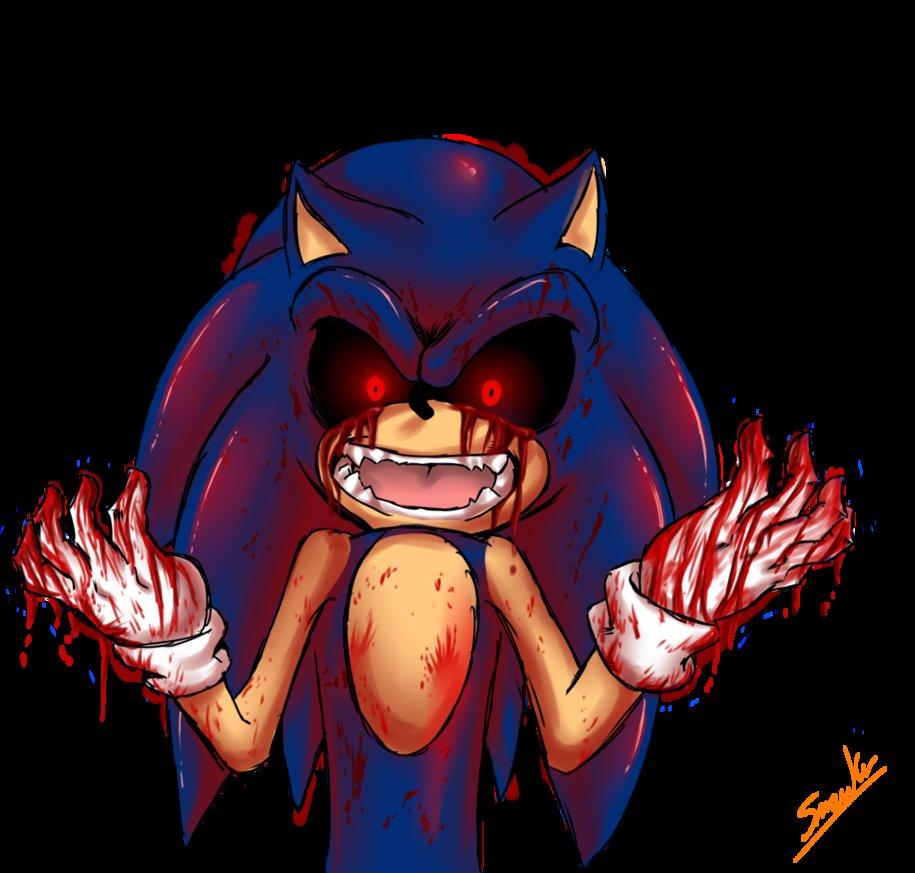 sonic.exe bloddy hands
