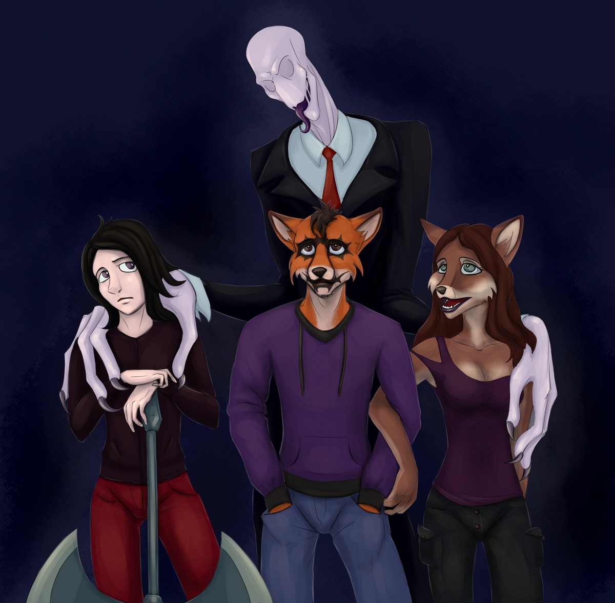 Slenderman and company