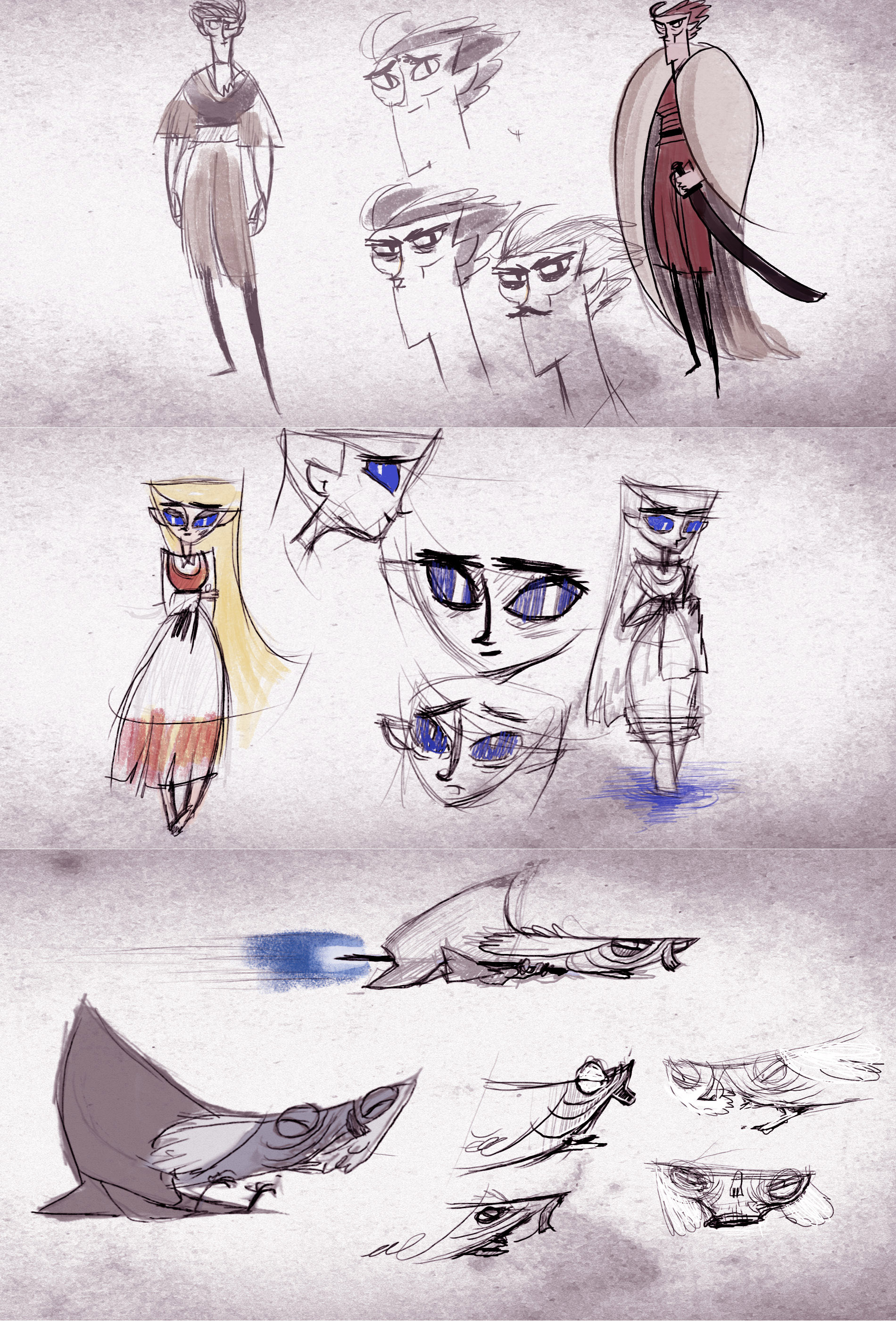 Animation characters