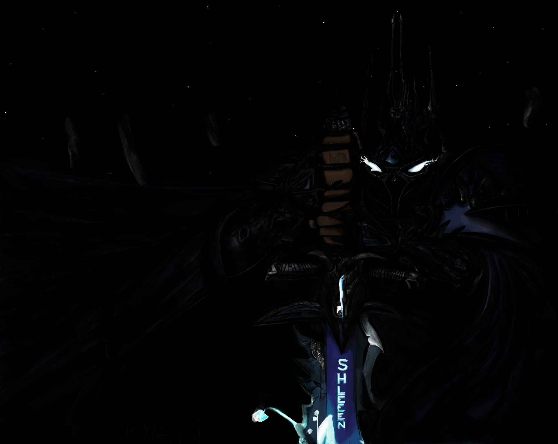 Ms Paint: Lich King