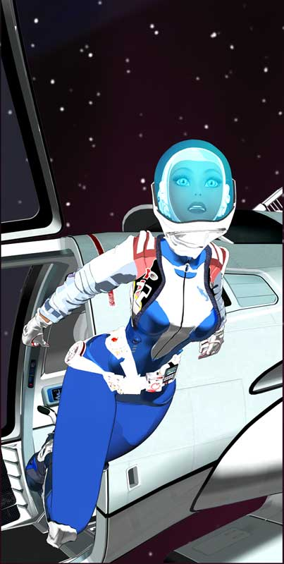 Suzi Quazar: Space Girl Advent