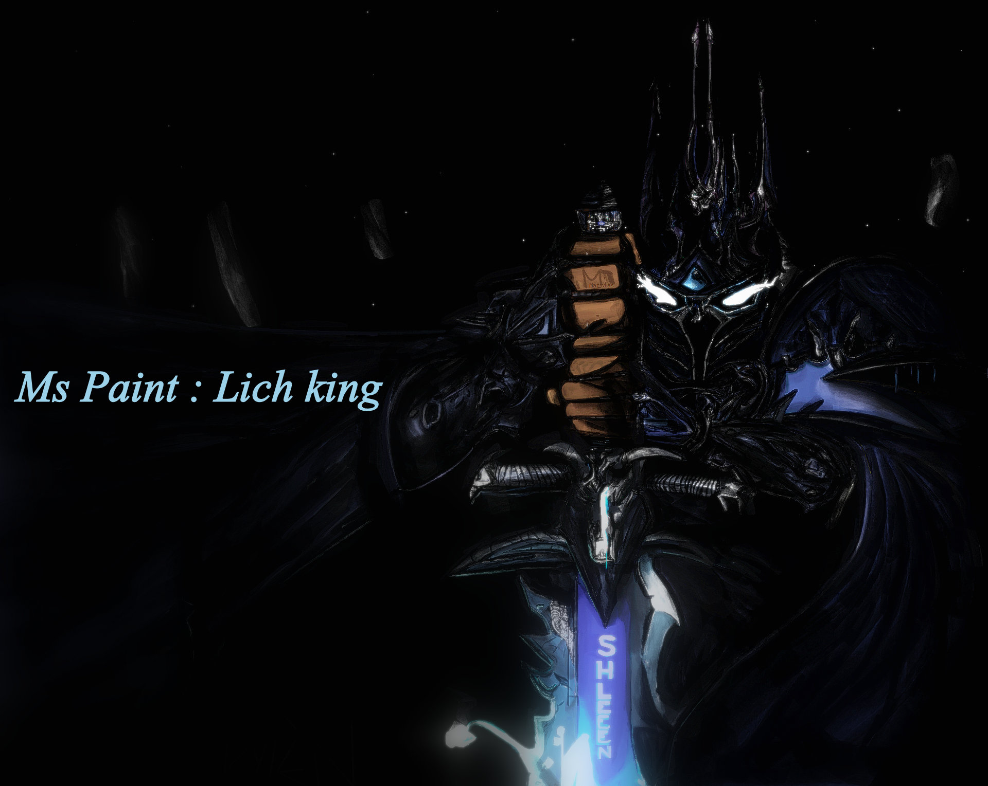 Ms Paint: Lich King V2