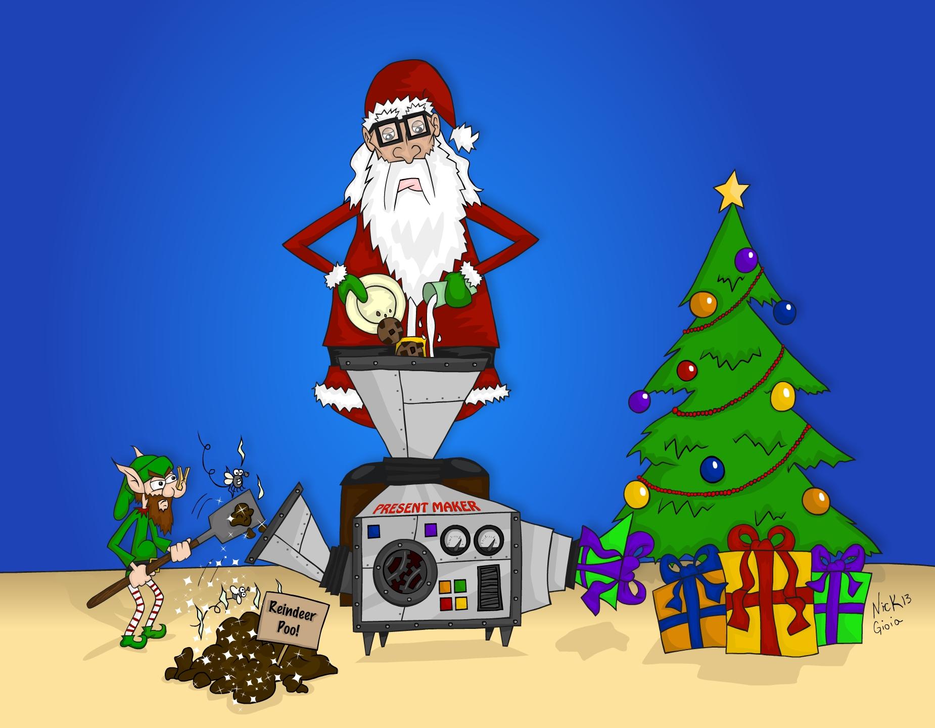Santa's Secret is out!