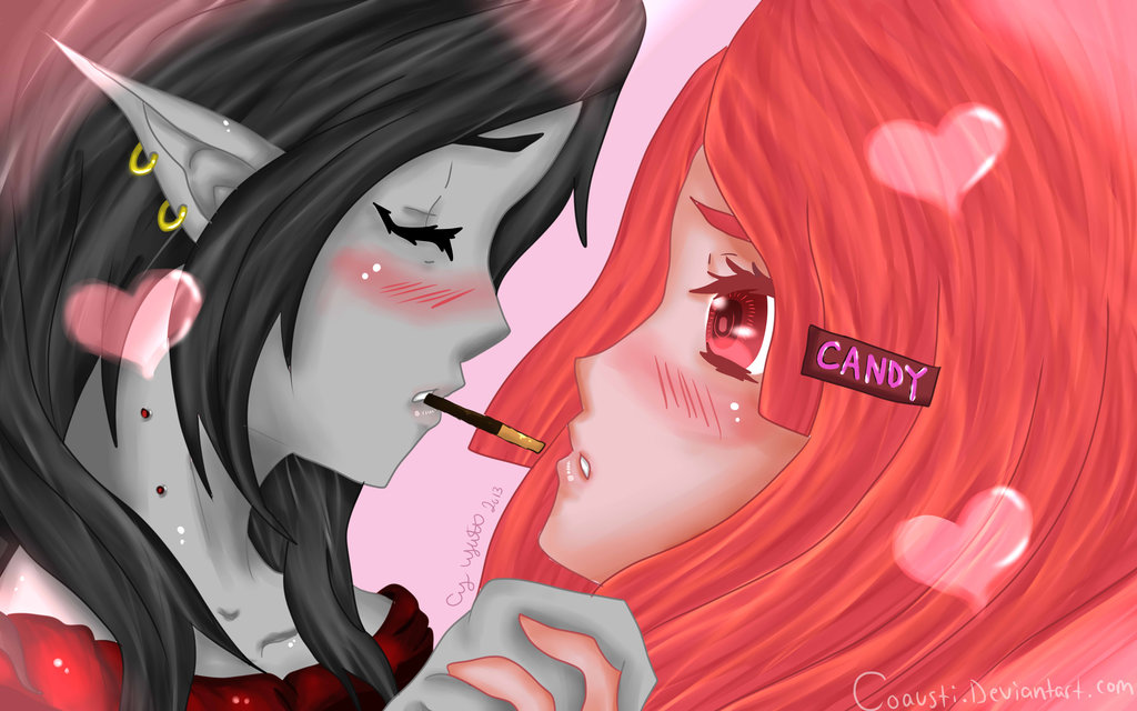 Pocky Time with PB and Marcy -