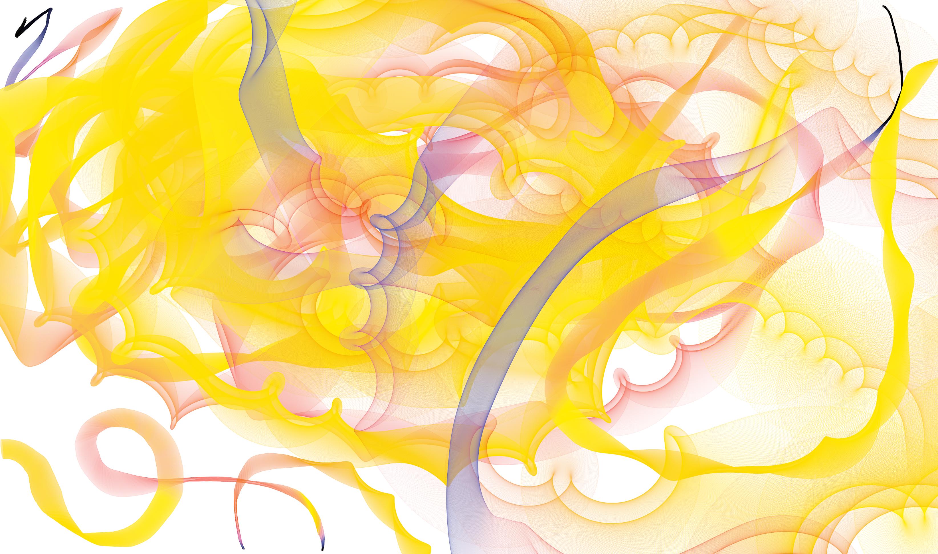 Yellow winding fun