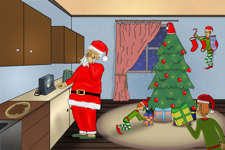 Santa is on duty!